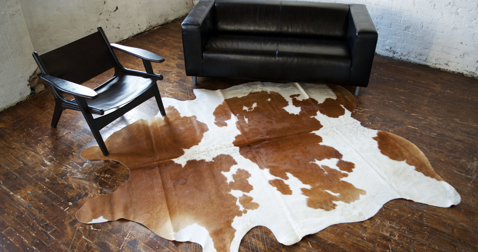 Furniture Manufacturer Home Goods Decor Cowhide